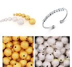 2015 Hot Silver&Golden Stardust Copper Ball Spacer Beads 3mm/4mm/5mm/6mm 100pcs