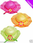 New Ladies Men's Unisex Summer Holiday Beach Hat in Three Assorted Colours