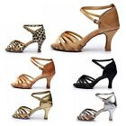 6 styles Latin Dance Shoes for Women/Ladies/Girls/Tango Salsa/5CM and 7CM Heeled
