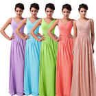 SUMMER PROMO~ Long Maxi Evening Party Prom Dress Formal Gowns Bridesmaid Dresses