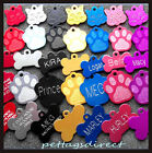Deeply Engraved Pet Id Large Small Dog Puppy / Cat Collar Name Disc Disk Tags !