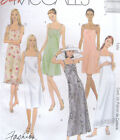 Misses Dress Sewing Pattern Bust Waist Darts Strap Lower Ruffle Embroidery 2778