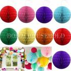 Honeycomb Ball Tissue Paper Lanterns Hanging Wedding Party Table Home Decoration