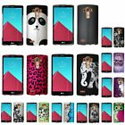 For LG G4 Ultra Thin Pattern Hard Rubberized Design Cover Snap-on Case Shell