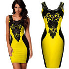 New Fashion Women Summer Sleeveless Slim Party Dress Sexy Evening Party Dress