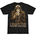 7.62 DESIGN SAM THE GRUNT LOCK & LOAD MENS T-SHIRT ARMY GRAPHIC GLORY TOP BLACK