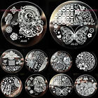 34 Style Metal Nail Art Image Stamp Stamping Plates Manicure Steel Template