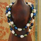 """Baroque 10mm Freshwater Pearl Necklace 25""""-60""""endless PALETTE TW40 PINE TREE"""
