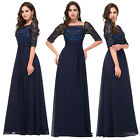 Long Mother Of Bride Dress Bridesmaids Wedding Evening Cocktail Formal Prom Gown