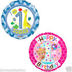 New Boys Girls 1st Birthday Girl Balloon Party bag fillers 18 Inches Balloons