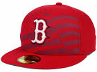 Official MLB 2015 Boston Red Sox July 4th Stars Stripes New Era 59FIFTY Hat