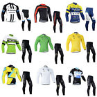 Mens Personal Long Sleeve Jersey Set Shorts Outdoor Sports Bike Cycling Bicycle