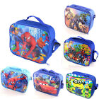 New Kids Lunch Box Bag Picnic Tote School Container Storage Box For Boys