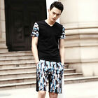 Camouflage Cotton Navy Military Men Casual Sports Tracksuit Athletic Apparel