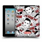 OFFICIAL ONE DIRECTION 1D FACE PATTERNS HARD BACK CASE FOR APPLE iPAD 2