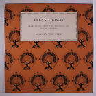 DYLAN THOMAS: Reading From His Work LP (slight cover wear) Spoken Word