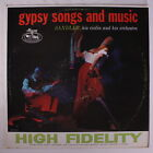 SANDLER: Gypsy Songs And Music LP (Mono, small tag on cover, some cover wear) I
