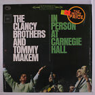 CLANCY BROTHERS & TOMMY MAKEM: In Person At Carnegie Hall LP (reissue, shrink)