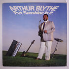 ARTHUR BLYTHE: Put Sunshine In It LP (slight cover wear, promo stamp on back co