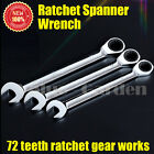 Ratchet Spanner Wrench 8mm 10mm 11mm 12mm 13mm 14mm 17mm 18mm 19mm 22mm 24mm