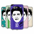 OFFICIAL 1D GRAPHIC FACES NIALL SOFT GEL CASE FOR SAMSUNG GALAXY S ADVANCE I9070