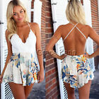 New Women Lace V Neck Clubwear Playsuit Sexy Party short Jumpsuit Romper Pants
