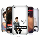 OFFICIAL ONE DIRECTION LOUIS TOMLINSON PHOTO HARD BACK CASE FOR APPLE iPHONE 3GS