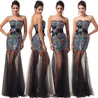 Long Masquerade Evening COCKTAIL Party Ball Gown Wedding PROM Bridesmaid Dresses