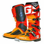 gaerne sg 12 ansr limited edition motocross enduro boots orange red