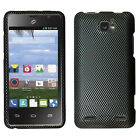 For Cricket ZTE Sonata 2 Rubberized HARD Protector Case Cover +Screen Protector