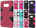 For Cricket ZTE Sonata 2 IMPACT TUFF HYBRID Protector Case Skin Phone Covers