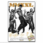 Magic Mike XXL casts pp signed movie poster Channing Tatum Joe Manganiello Bomer