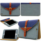 360 Rotating Belt Buckle Leather Smart Stand Case Cover For iPad 2 4/Air 2/mini