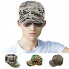 Men Women Army Camouflage Military Camo Forest Soldier Hunting Hat Baseball Cap