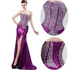 Women Mermaid Long Evening Party Ball Prom Gown Formal Bridesmaid Cocktail Dress