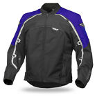 Fly Racing Butane 4 Blue / Black Mens Textile Motorcycle Riding Jacket