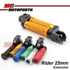 "M-Grip CNC 1"" Adjustable Riser Front Foot Pegs for Monster S4R Testastretta"