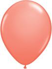 "Qualatex Fashion Coral 11"" Helium Quality Wedding Party Balloons"
