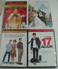 17 again 2 - LOT x4 DVDS princess diaries 2 my big fat greek wedding sixteen candles 17again