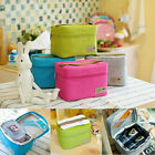 Portable Waterproof Thermal Insulated Lunch Bag Travel Picnic Tote Storager Box