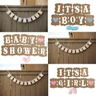 Baby Shower Wedding Party Bunting Banner Garland Photo Hanging Decoration Sign