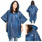Trespass CANOPY Light Weight Rain Poncho Waterproof Festival Hiking Hooded Cape