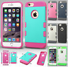 For Apple iPhone 6 Plus 5.5 Tuff Trooper HYBRID TPU Case Phone Cover Accessory
