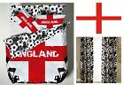 England Duvet Quilt Cover Set With Pillowcases, Football Goal Single Double Size