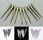 25/35/52mm Silver/Golden/Black Acrylic Spike Charm For Basketball Wives Earrings