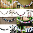 Paper Birthday Wedding Bunting Banner Garland Photo Props Party Hanging Decor