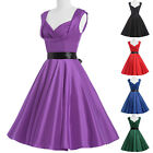 ROCK N ROLL 50's rockabilly Vintage Style Homecoming TEA Swing Pinup Retro Dress