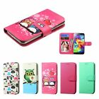 New Wallet Flip Leather Stand Case Cover For iPhone Samsung Galaxy Phones