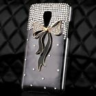 Luxury 3D Bling Crystal Diamond Hard Back Case Cover For Various LG Cell phones