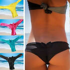 Sexy Women's Fashion Brazilian Bikini Thong Bottoms T-Back Swimwear